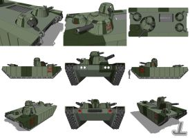 Maganacor MBT MK6 by JazzLizard