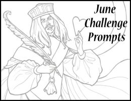 June 09 Challenge Prompts by WickedlyLoquacious