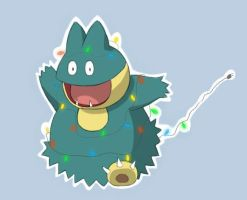 Christmas Munchlax by Nehora03
