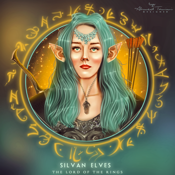 silvan elves by ahmedwww211