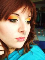candy corn by itashleys-makeup
