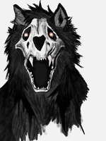 Canis Lupus la Mort by zulas-apperentice