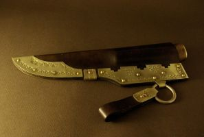 Composite Handle knife by Haraldr32