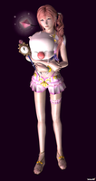 Serah Farron and Mog - Happy Fun Times - 01 by HentaiAhegaoLover