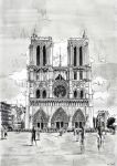 For sale - Cathedral Notre-Dame by nicolasjolly