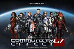 Mass Effect Community Mashup Fan Art by rs2studios