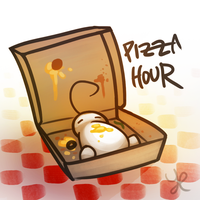 Pizza Hour by A-i-R-o