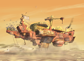 Armed merchant ship, Ogress Wife by Waffle0708