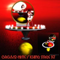 MMD Gackko-Hime's Iching Stage by Trackdancer