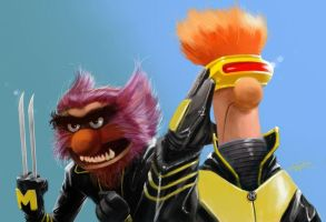 X-Muppets by blakenoble6