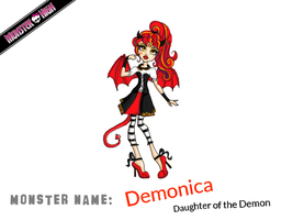 Monster High - Demonica by Pinrescent