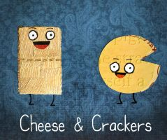 Cheese and Crackers by TheCuraga