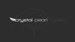 Crystal Pearl Logo by prdx-design