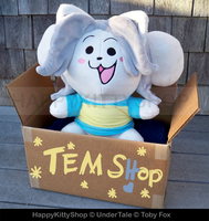 Temmie Plushie Version 2 by QueenBeePlush