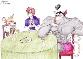 Request : Strip-Poker by Birdy-Papa