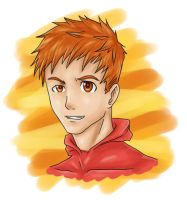 Wally West Headshot by nursury0