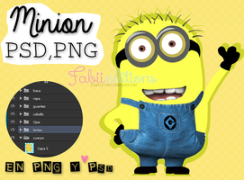 Minion By FabiiEditions PSD Y PNG by fabii27
