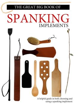 Spanking Implements Book Cover by Arkham-Insanity
