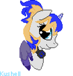 Pony Pixel - Headshot Hugedoll (Winner) by Kushell