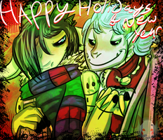 Happy WHATEVER by skullkidwolfdemon