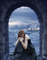Sailing Away With Her Heart by VisualPoetress