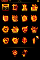 Theme iPhone A Flame wall by thecabalwizard
