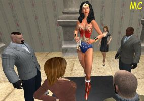 Wonder Woman: The Fine Art Of Crime by The-Mind-Controller