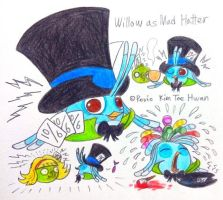Willow as Mad Hatter by komi114
