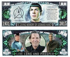 In Loving Memory To Leonard Nimoy by EcorynV