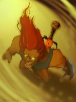 LionO- tribute thundercats by juliodelrio