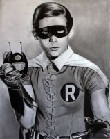 Burt Ward Robin by donchild