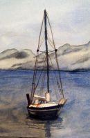 .:misty sail boat:. - boat detail by muridaee