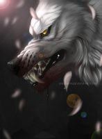 White Wolf Warrior by Andiliion