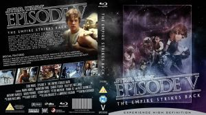 STAR WARS Episode V Blu-ray cover by MrPacinoHead