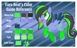 Euro Beat Color Guide Reference by Rayne-Feather