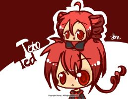 Ted and Teto by jenn5055
