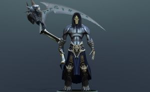 Death 3d model DArksiders II by DragonisAris