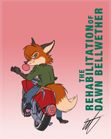 Valerie Vulpes and Ol' Red by WastedTimeEE