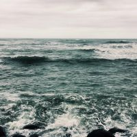 One with the waves  by CityColors