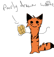 A poorly drawn waffle by Nightstripes0987
