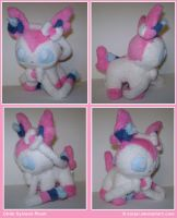 Chibi Sylveon Plush by sorjei