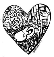 Steampunk Heart for Valentine's Day by samartnphotos