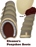 Eleanor's Ponyshoe Boots by Viethra-Schepherd