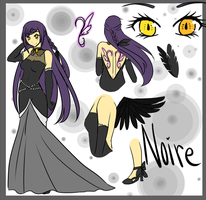 OC: Noire by NatiiLuv
