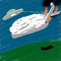 UFO attack by eswallace2001