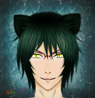 Nekomimi megane man (old) by MelanySama