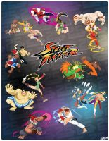 STREET FIGHTER TRIBUTE by Andres-Iles
