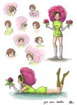 Doodles - Flower Girl by Nuditon