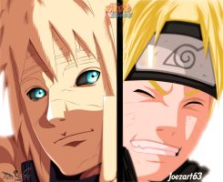 Naruto[644] Feelings within Father and Son {COLLAB by honchkrow14