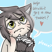 one catboy asks for assistance by theamazingwrabbit